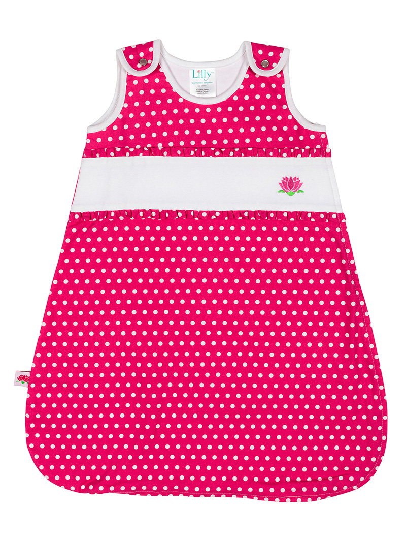 Girl Baby Sleeping Bag Front