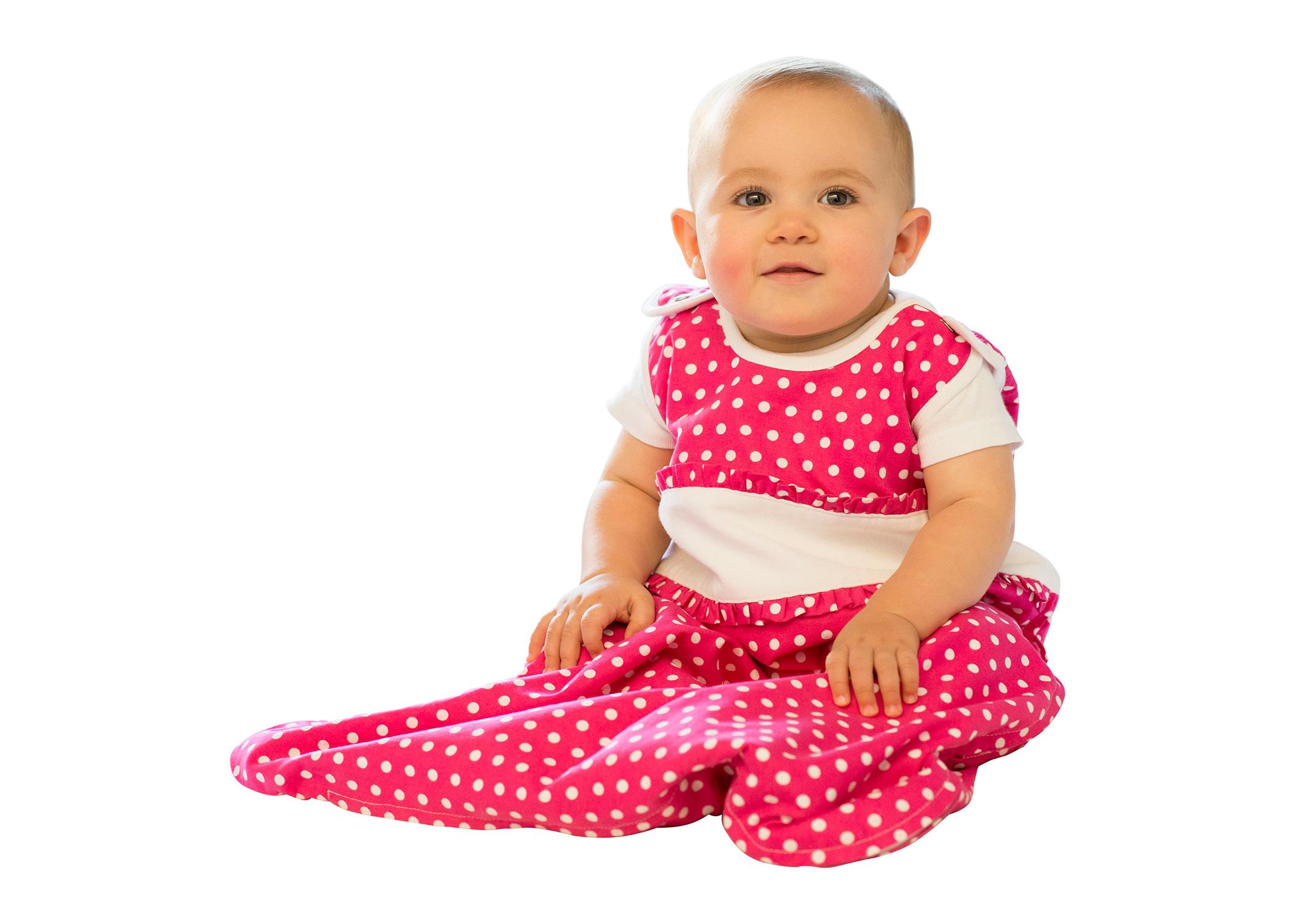 Hot Pink Girl Baby Sleeping Bag